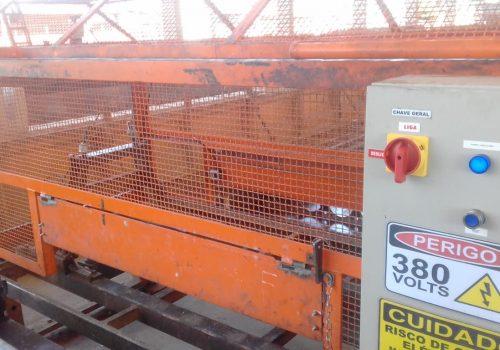 Máquina Enroladora de Mangueira Depois - Mlima Segurança do Trabalho